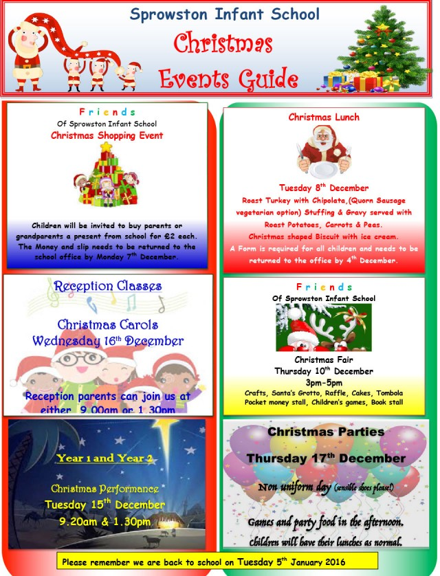 Newsletters  Sprowston Infant School